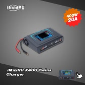 Original iMaxRC X400 Twins Released Touch Screen 400W LiPo LiFe Lion NiCd NiMh Battery Balance Charger Discharger