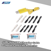 Original JJRC H20 RC Hexacopter Part H20-06 USB Charging Cable H20-07 Propeller and H20-04 Batteries for JJRC H20 RC Hexacopter