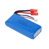Original RC Syma X8C Part 7.4V 2000mAh 25C Lipo Battery (Banana Plug) for Syma X8C RC Quadcopter