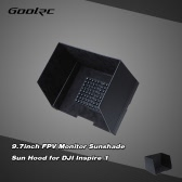 GoolRC 9.7inch FPV Monitor Black Sunshade Sun Hood for Tablet iPad for DJI Inspire 1 DJI Phantom 3 FPV