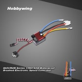 Hobbywing QUICRUN Series 1060 60A Waterproof Brushed Electronic Speed Controller ESC with 5V/2A Linear Mode BEC for 1/10 RC Car