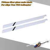 Fiber Glass 700mm Main Blades for  Align Trex 700 RC Helicopter