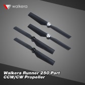 2 Pair Original Walkera Runner 250 FPV Quadcopter Parts CW/CCW Runner 250-Z-01 Propeller Set