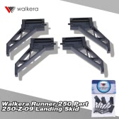 4Pcs Original Walkera Runner 250 FPV Quadcopter Parts Runner 250-Z-09 Skid Landing