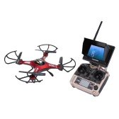 l JJRC H8D 5.8G FPV RTF RC Quadcopter Headless Mode/One Key Return Drone with 2.0MP Camera FPV Monitor LCD