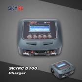 Original SKYRC D100 100W LiPo LiFe LiIon LiHV NiMH NiCd Battery 2 Ports Charger Discharger