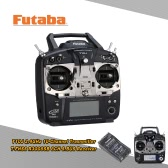 Original Futaba T10J 2.4GHz 10 Channel T-FHSS Trasnmitter (Mode 2) with R3008SB 8CH T-FHSS S.BUS Receiver