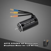 4076 2250KV 4P Sensorless Brushless Motor for 1/8 RC Monster Truck