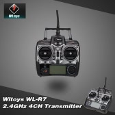 Original RC Part Wltoys WL-R7 2.4GHz 4CH Transmitter for Wltoys V911S V911 V912 V913 V929 V939 V949 V959 RC Helicopter
