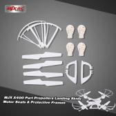 Original MJX X400 Part Propellers Landing Skids Motor Seats and Protective Frames for MJX X400 RC Quadcopter