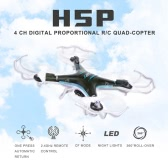 JJRC H5P 2.4G 6 Axis Gyro Headfree One Key Return 3D Roll RC Quadcopter with 2.0MP HD Camera