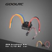 GoolRC 80A 2~4S LiPo Battery Electronic Speed Controller ESC for 1/8 1/10 RC Car