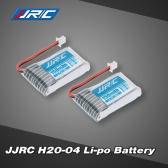 2Pcs Original JJRC H20 RC Hexacopter Part H20-04 3.7V 150mAh 30C Li-po Battery
