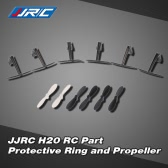 Original JJRC H20 RC Hexacopter Part Protective Ring H20-05 and Propeller H20-07