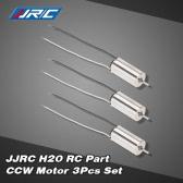 3Pcs Original JJRC H20 RC Hexacopter Part CCW Motor H20-09