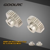 GoolRC 2Pcs 48DP 30T Pinion Motor Gear for 1/10 RC Car Brushed Brushless Motor