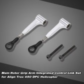 Main Rotor Grip Arm Integrated Control Link Set for Align Trex 450 DFC 6CH 3D RC Helicopter