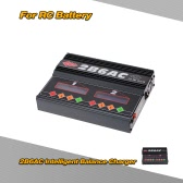 2B6AC 2 * 50W Dual Power Multifunction AC DC Balance Charger Discharger for RC LiPo LiLo LiFe MiMh NiCd PB Battery