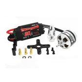 EMAX XA2212 1400KV Brushless Motor w/Simonk 20A ESC and Prop Adapter for DJI F450 F550 RC Quadcopter Part(EMAX XA2212 1400KV,1400KV Brushless Motor,Simonk 20A ESC)
