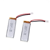 2Pcs Original Wltoys V977-006 3.7V 450mAh 30C Lipo Battery for Wltoys V977 V930 RC Helicopter JJRC H37 RC Quadcopter
