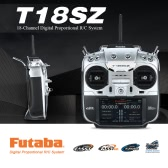 Original Futaba T18SZ 2.4GHz FASSTest 18CH Radio Transmitter Mode 2 & R7008SB 8CH Receiver for RC Airplane Helicopter Glider Multicopter