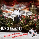 MJX X101 2.4G 6-Axis Gyro Headless/3D Roll/One Key Return RC Quadcopter