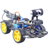 Smart Wifi 4WD DIY RC Robot Car with 1.3MP HD Camera Support PC Mobile Phone Control Monitoring