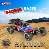 HSP 94054S Bajer 1/5 2.4Ghz 2CH 4WD 32CC Gasoline Powered Desert Buggy RTR Remote Control Car