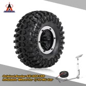 Original Austar AX-3021SR  Air Pneumatic Beadlock Wheel Rim and Tire for for 1/10 RC4WD D90 Axial SCX10 Crawler Truck