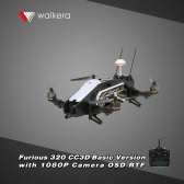 Original Walkera Furious 320 CC3D Basic Version FPV Racing Drone RTF RC Quadcopter with OSD 1080P HD Camera DEVO 7 Transmitter