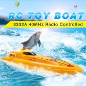Create Toys 3332A 40MHz Radio Controlled 3CH 7.2V Electric High Powered High Speed RC Boat