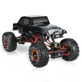 Original HSP 94180T2 1/10 2.4Ghz 2CH 4WD Eletronic Powered Brushed Motor RTR Rock Crawler RC Car with One Servo