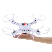 Original JJRC H8CH 2.4G 4CH 6-axis Gyro 2.0MP HD Camera RTF RC Quadcopter with 3D-flip Set-height Mode Function