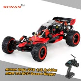 Original Rovan Baja 275 1/5 2.4Ghz 2WD 27.5CC Gasoline Powered Desert Buggy RTR Remote Control Car