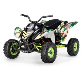 Original Wltoys 12428-A 1/12 2.4G 4WD 50km/h Electric Brushed Off-road Motorcycle w/ LED Lights RTR RC Car