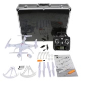 Original Syma X5SC 4CH 2.4G 6-axis Gyro RC 2.0MP Camera FPV Quadcopter with Aluminum Carrying Case & Fluorescent Sets