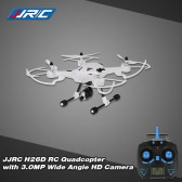 Original JJRC H26D 2.4GHz 4CH 6-axis Gyro 3.0MP Wide Angle HD Camera 2-Axis Gimbal RC Quadcopter with One Key Return CF Mode 360° Eversion Function