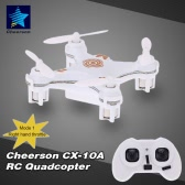 Original Mode 1 Cheerson CX-10A 2.4GHz 4CH RC Quadcopter NANO Drone UFO with Headless Mode Function