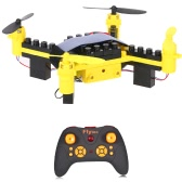 Original Flytec T11 2.4G 4CH Drone 3D flip Headless Mode DIY Building Block RC Quadcopter