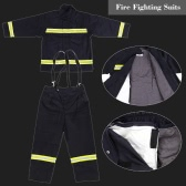 Flame Retardant Clothing Fire Resistant Clothes Fireproof Waterproof Heatproof Fire Fighting Equipment