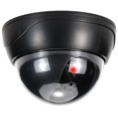 Simulation Dome Camera Red LED Blinking Light Fake Dummy CCTV Security System for House Office Market