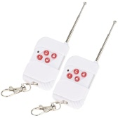 2pcs Wireless RF Remote Control 4 buttons Telecontrol 433 MHz Home Security Alarm System
