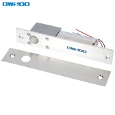 OWSOO  Electric Drop Bolt Lock Fail-safe Secure NC Mode 12V For Door Entry Access Control System
