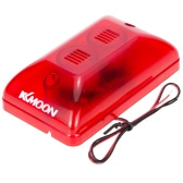 KKmoon  Fire Alarm Siren Wired Sound & Strobe Alert Horn Safety System for Home Office Hotel