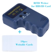 Handheld 125KHz RFID ID Card Writer/Copier Duplicator + 10pcs Writable T5577 Cards