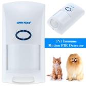 433MHZ Wireless 25KG Pet Immune Motion PIR Sensor Infrared Detector For Alarm Security System