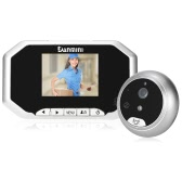 "DANMINI  3""  LCD 960P Digital Peephole Viewer 160° Door Eye Doorbell HD IR Camera Night Vision Photo Taking/Video Recording for Home Security"