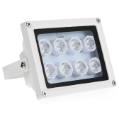 Infrared Illuminator 8 Array IR LEDS Night Vision Wide Angle Outdoor Waterproof for CCTV Security Camera
