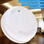 Wireless Smoke Detector Home Security Fire Alarm Sensor System