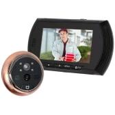 """4.3""""  LCD Digital Peephole Viewer Door Eye Doorbell Video IR Motion Camera Night Vision Home Security"""